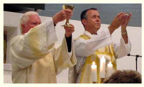 Dear Lord, we thank you for the gift of our dear priest and deacon, and ask you to bless them.