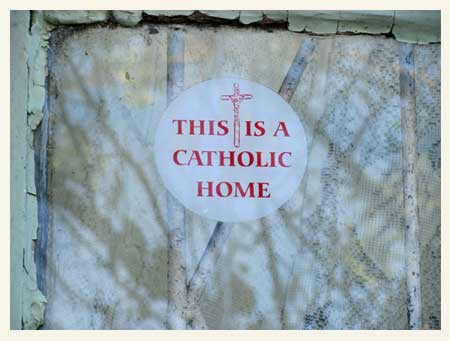 The catholic home of Mr and Mrs Olfant