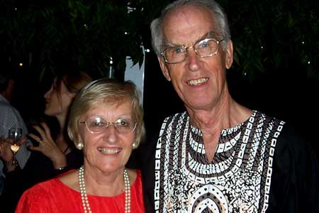 Francoise and Brian Robertson